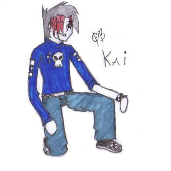 Kai from Taiki: The Webcomic by diarygirl598