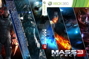 Mass Effect 3 Game Cover by AngryPIG