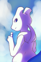 Ryu the Mewtwo by Xael-The-Artist