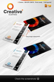 Reclameworks 5 1 RW Creative Business Cards By