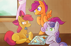 CMC play Monopoly! by MasterCheefs