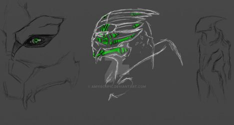 turian sketches by AMYisC0P1C