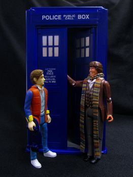 Woah, Doc! This is HEAVY! by Police-Box-Traveler