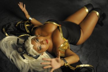 Me as Storm by Sunymao