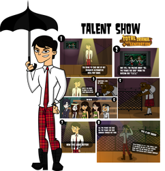 TDNG #1st CHALLENGE - TALENT SHOW by JaDraws