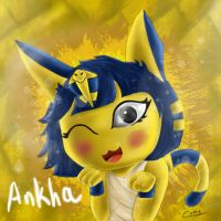 Ankha Animal Crossing by MugiwaraDCynthia