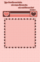 Vintage Hearts Journal Skin by Llendowyn