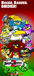 The Angry Birds Movie 2 fanmade poster by ANGRYBIRDSTIFF