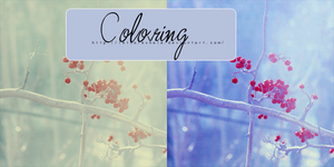 Blue Coloring PSD by LethalExhale