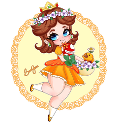 PRINCESS DAISY by BeauxYeux