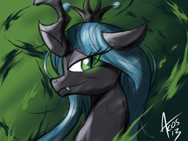 The Changeling Queen by Cynos-Zilla