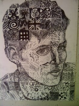 Colin Morgan Inked Patterns Project by 5UNNYR4Y3