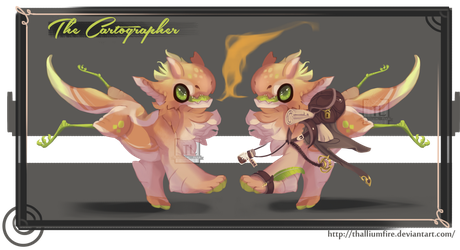 The Cartographer (Auction, Closed) by Thalliumfire