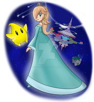 Rosalina and Luma by NY-Disney-fan1955