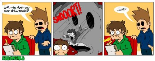 EWcomics No.63 - Noses by eddsworld