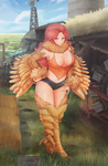 Breast and Thighs by artconscript