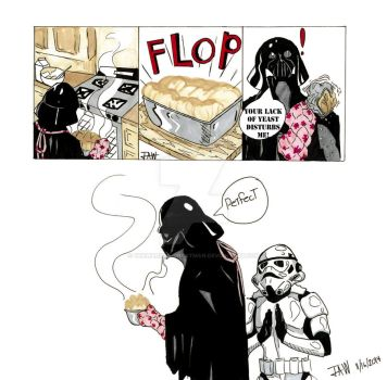 Cooking With Vader by TheWarden-DrBatman