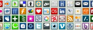 Complete Social Media Icon Pak by shift2076