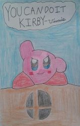Kirby The Hero Of Smash Bros by TobiIsABunny
