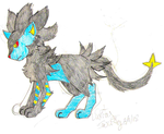 Feline Luxray - Save That Pokemon Title Card by Swiftstar01