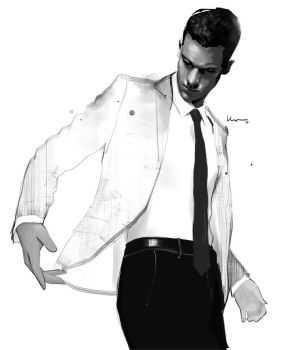 Man in the White Suit by grey90