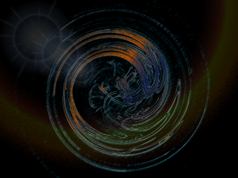 Abstract Spiral wallpaper by HelenaZF