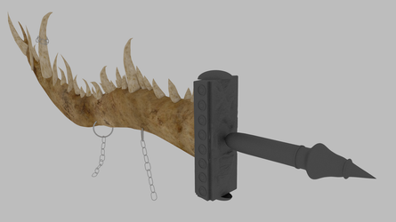 Jaw Sword by Quentinvcastel by CLMwolf