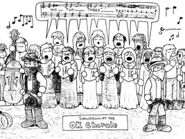 Showdown at the OK Chorale by Luprand