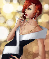 Portrait of a Diva by Phansmatic