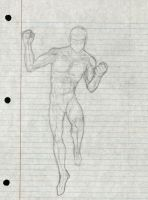 Male Dynamic Pose Practice by Taqresu650