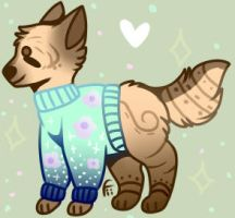 CHEAP ADOPTABLE! (POINTS) CLOSE by ChocoMine4ever