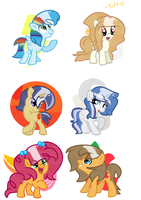 NG: The Children of The Mane Six by Tuff--Rubies