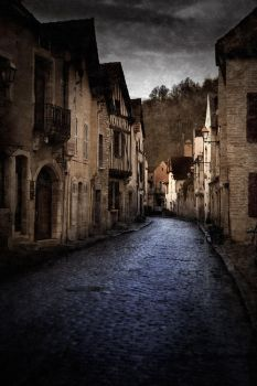 Street of Noyers by fb101