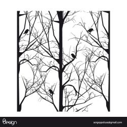 vector trees by sergeypoluse
