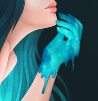 Drop of Stars by CosmosKitty