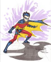 animated like Robin sketch by SpiderGuile