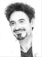 Robert Downey Jr by TopazBlitz