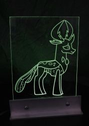 MLP:FiM Changeling Deer Creature LED Picture by steeph-k