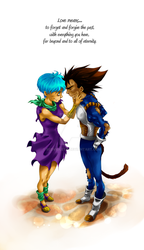 DBZ - Love means... by RedViolett