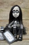 Alice, Gothic cloth and clay doll. by VeronikaLozovaya