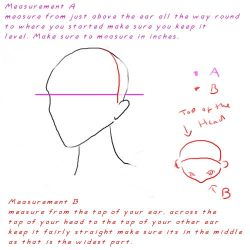 how 2 measure urself for a hat by neko-crafts