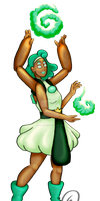Chrysoprase by EmersonWolfe