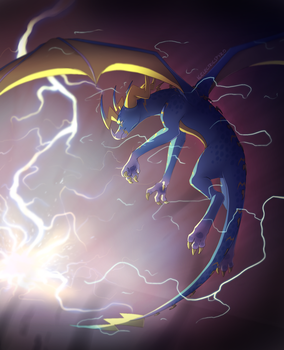 Lightning Strike by IcelectricSpyro