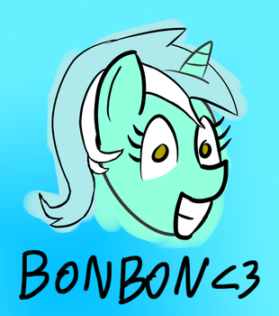 Lyra wants Bonbon by Lyynou