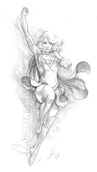 Supergirl 01 Small by mikewilsonart