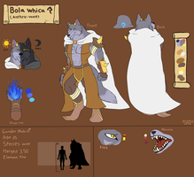 Bola Whica (Updated Reference Sheet) by FanDragonBrigitha