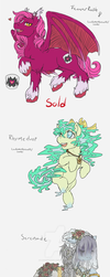 Pony Adoptables 2: HALLOWEEN EDITION [OPEN] by LadyVentuswill
