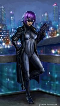 Ghost In The Shell by SirTiefling