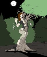 Paje makes like a tree by FullMoonMaster