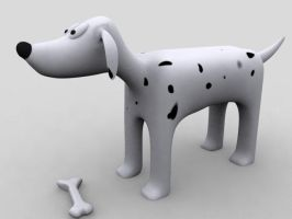 dog render by capt-toenail